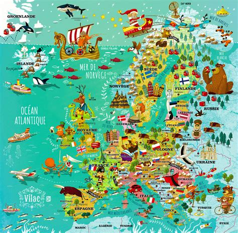 map de l europe carte de l europe olivier huette
