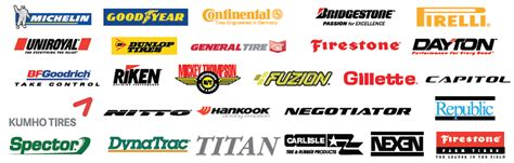 Tire Brand Names And Logos Tire Sales Commercial Tires Suv Tires Topeka Ks