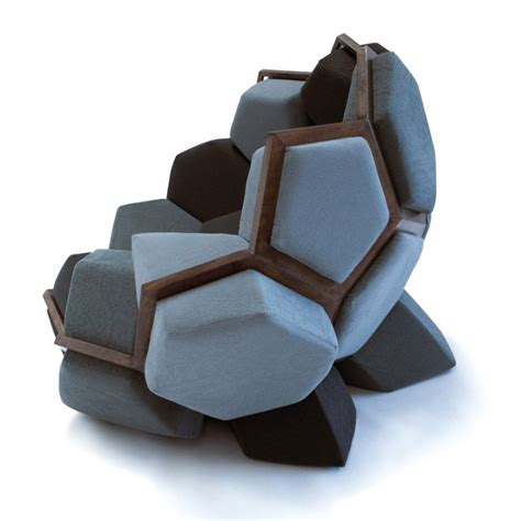 Interesting Chairs by Versatile Modular Furniture Quartz Armchair By Davide