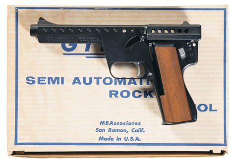 Mba Consignment Sale by Desirable Mba Ii Model C Gyrojet Pistol With Box