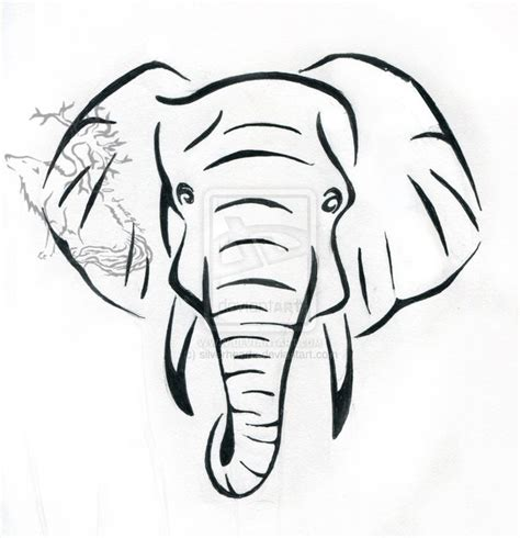 tattoo elephant sketch 206 best images about elephants tattoo on pinterest