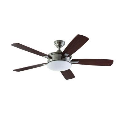 Home Decorators Collection Ceiling Fan by Home Decorators Collection Daylesford 52 In Led Brushed