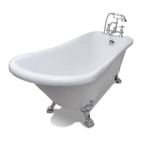 baignoire a pieds baignoire sur pieds en acrylique de vidaxl notre test