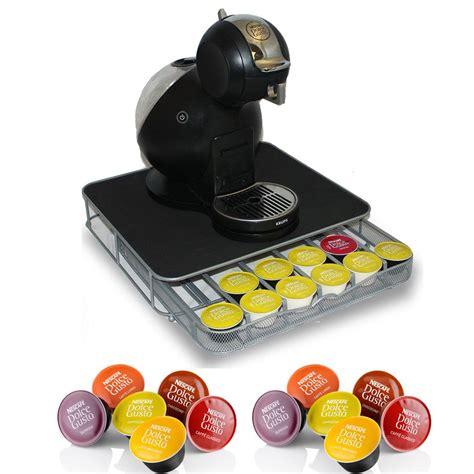 coffee pod drawer dolce gusto dolce gusto coffee pod stand and drawer storage holds 36