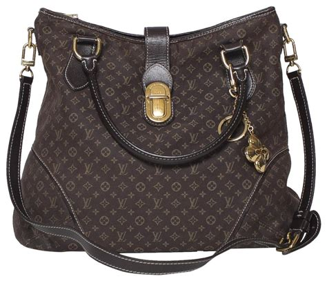 louis vuitton elegie monogram idylle fusain brown fabric