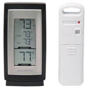 outdoor thermometer home depot acurite wireless digital weather thermometer 00826hd the