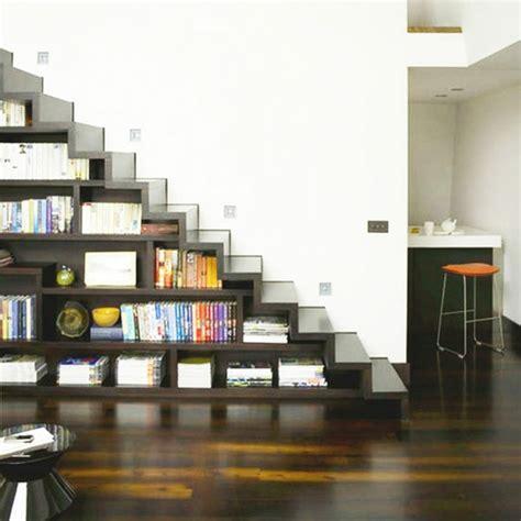 Shelves Bookcase Quel Meuble Sous Escalier Choisir Archzine Fr
