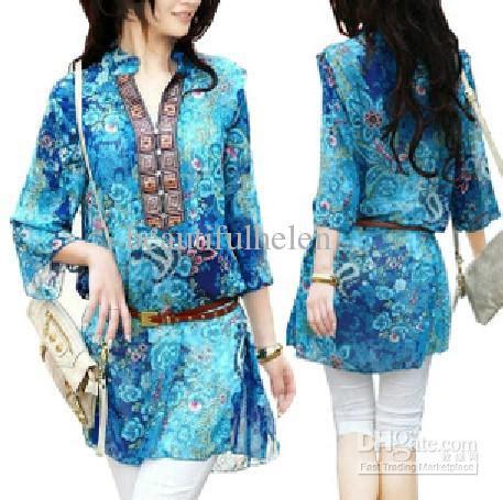 Poplin Shirt Blouse Blouse Korea Blouse Bangkok Fashion Bkk Import women s blouses trendy clothes