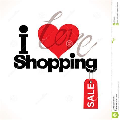 image gallery i love shopping icons i love shopping stock illustration illustration of cute