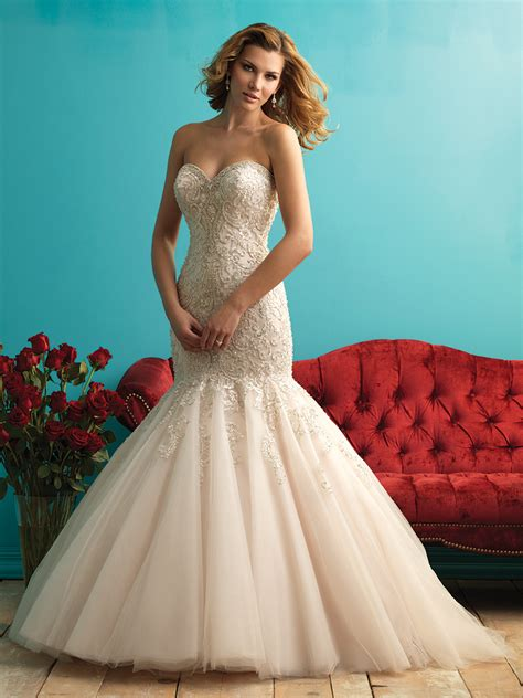allure bridals style 9275