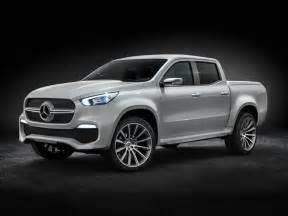 Concept Mercedes The Mercedes X Class Concept Truck Is Here
