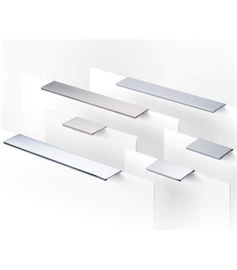 maniglie cassetti maniglia piatta rettangolare per cassetti synthesis 766