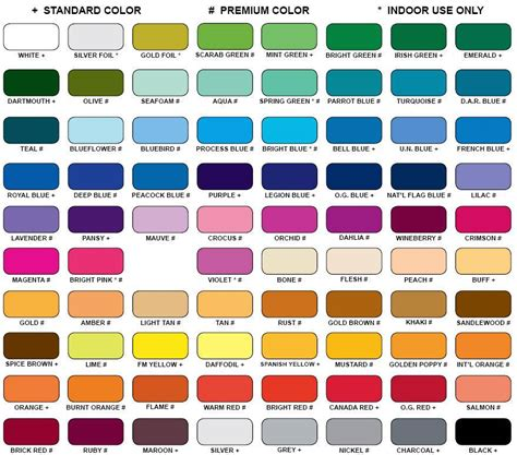 all colors shades of yellow paint web design color chart all color