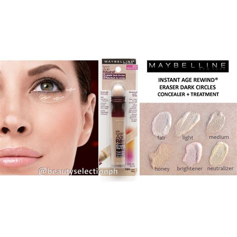 Maybellin Eye Concelear maybelline insant age rewind 174 eraser circles concealer treatment