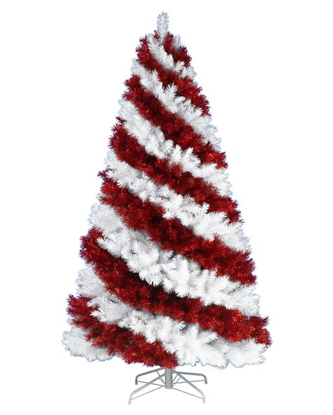 red christmas tree candy cane christmas trees online treetopia