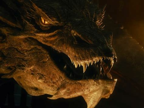 smaug breathes fire like a bloated bombardier beetle with