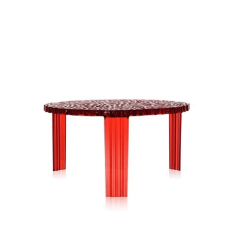 kartell t table 28cm high coffee table