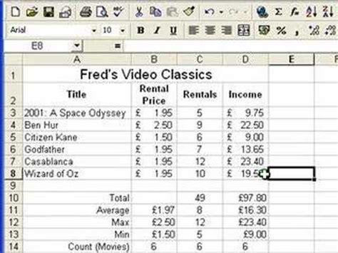 tutorial excel 2010 gratuit microsoft excel tutorial for beginners 6 formatting pt