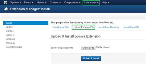 how to install joomla template billionanswers
