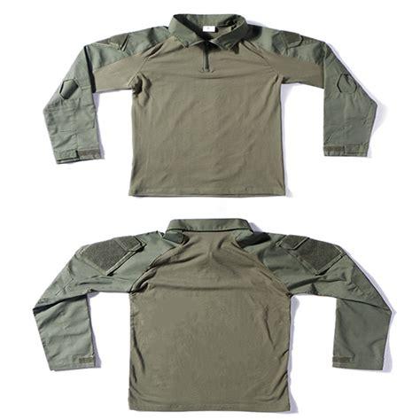 Combat Shirt Green Olive details of olive green frog combat shirt woodland camo