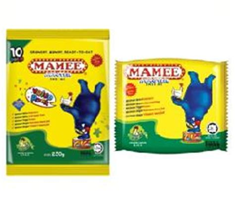 mamee monster chicken flavour mamee monster bbq flavour