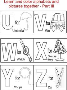abc color alphabet coloring pages printable free