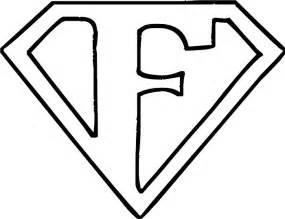 f color letter f coloring page