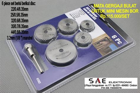 Gergaji Mesin Akrilik jual mata gergaji circular untuk mesin bor atau grinder
