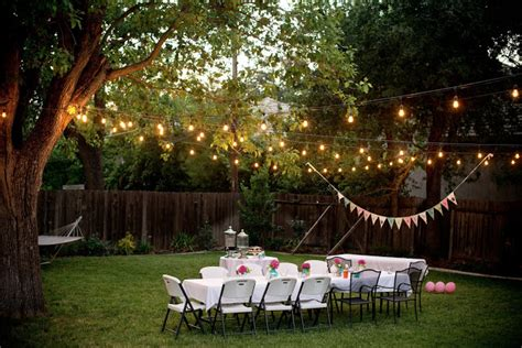 Lighting Ideas For Backyard by 5 Backyard Entertaining Ideas We Pizzazzerie