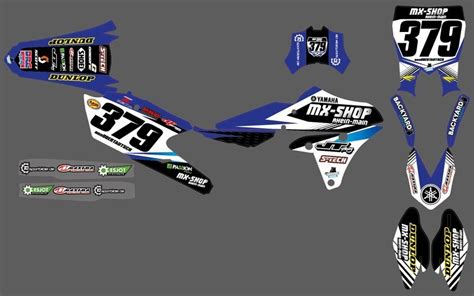 mx dekor mx shop team dekor kit 2015 16 yamaha mx shop rhein