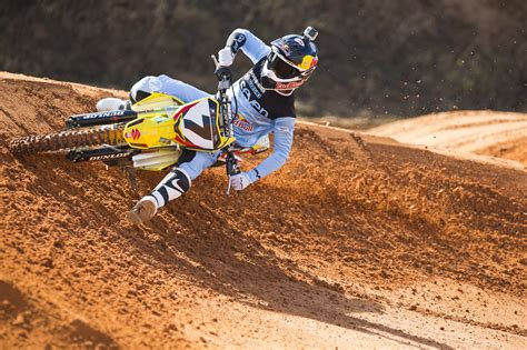 james stewart motocross gear james stewart re signs with bell helmets transworld