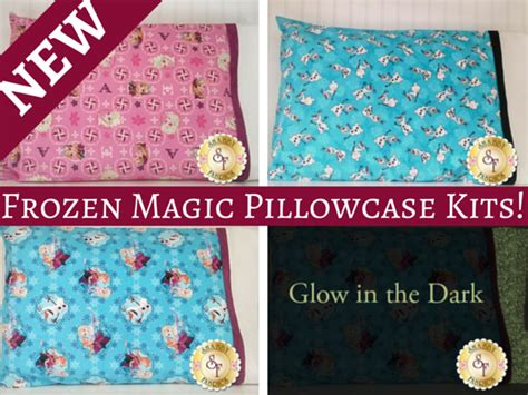 the shabby a quilting blog by shabby fabrics new frozen themed magic pillowcase kits