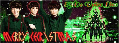wallpaper line exo christmas banner exo voice line 2 by kimkathy on deviantart