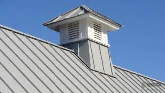 gray aluminum cupola on metal roof riverside boston ma