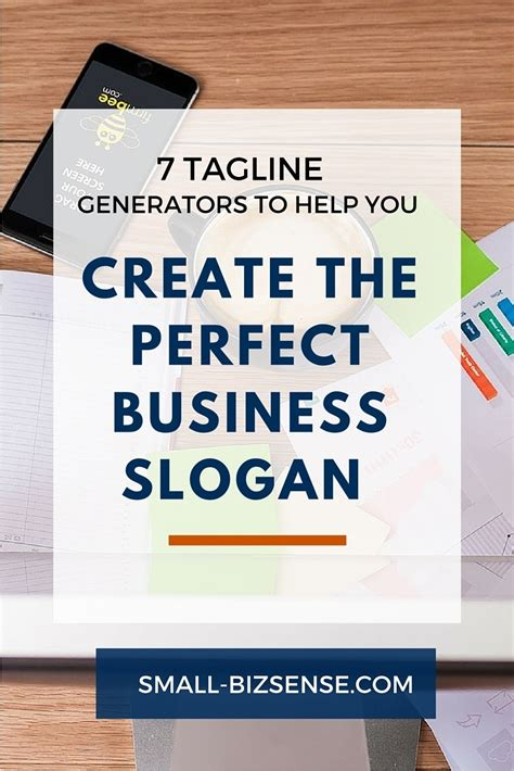 how to make a company logo and tagline 7 tagline generators that help you create the business slogan small business sense