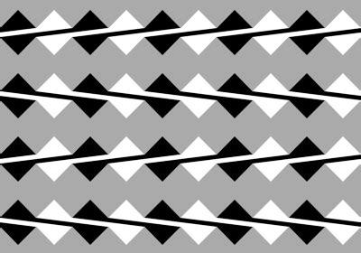 ilusiones opticas rectas paralelas ilusion optica efecto fraser paralelas que no lo