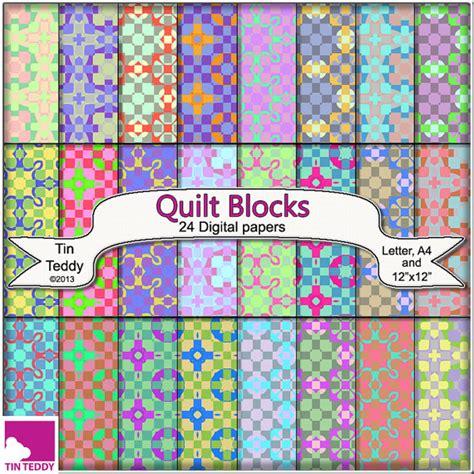 printable paper quilt squares quilt blocks digital paper 24 printable backgrounds for