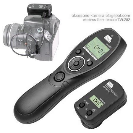 pusatnya aksesoris kamera: remote shutter / release shutter
