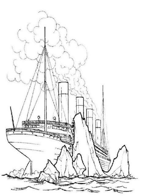 titanic underwater coloring pages kids n fun com 30 coloring pages of titanic
