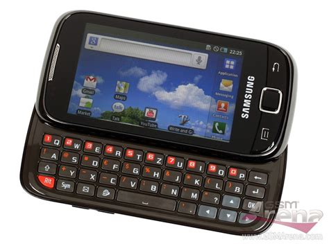 Hp Samsung Android Qwerty samsung galaxy 551 ponsel android berdesain sliding
