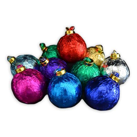 Novelty Chocolates   Festive Chocolate Ornaments for Your Christmas Tree   Dilettante Chocolates