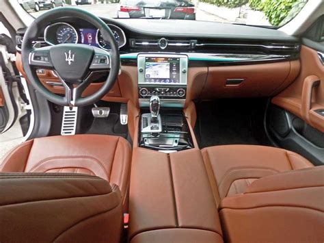 maserati interior 2015 2015 maserati quattroporte interior