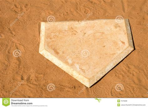 home plate royalty free stock images image 7575599