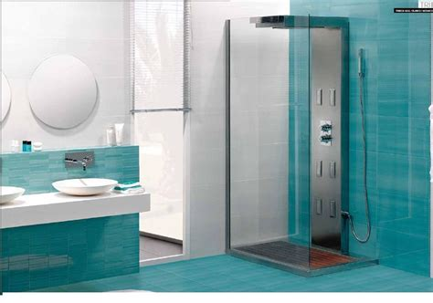 decorados baños cocina con azulejos turqueza reciclafa