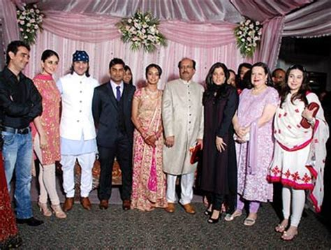 bollywood attends top doc's daughter's wedding rediff