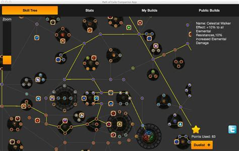 path of exile skill tree ver4rev95 apk android