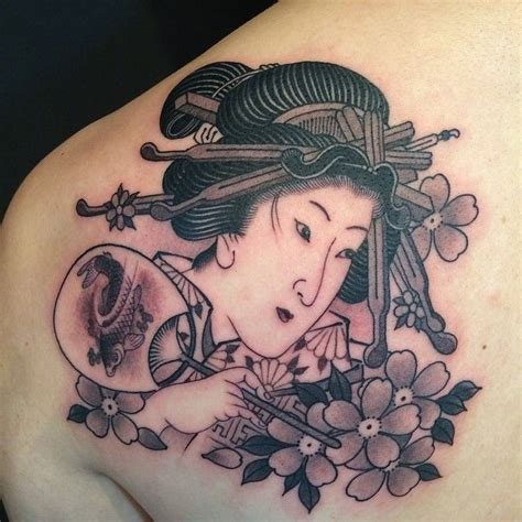 geisha irezumi tattoo 235 best gueisha images on pinterest japan tattoo