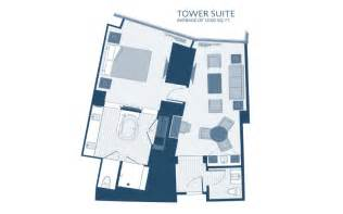 Aria Las Vegas Floor Plan by Aria Rooms Amp Suites