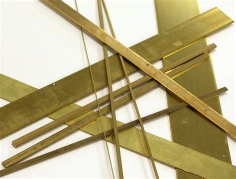 Thin Metal Decorative Strips by Brass Flat Bar Product Categories Yard