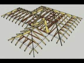 Hipped Roof Construction Broken Hip And Valley Roof Scotch Valley Youtube